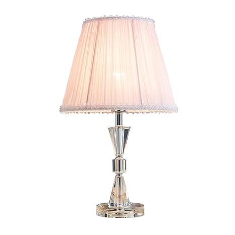 Table lamp Lámpara de Mesa de Cristal Dormitorio lámpara de ...