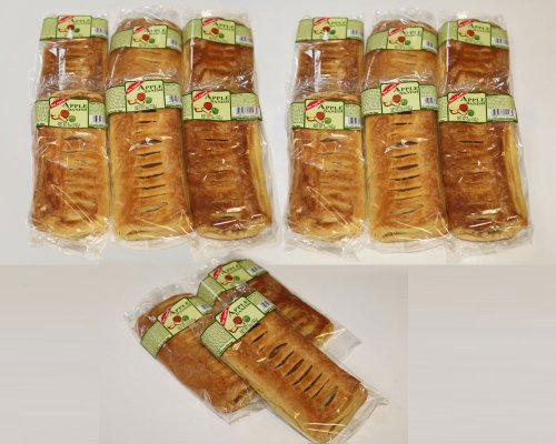 BON Appetit Large Gourmet Apple Danishes, 6 Pieces