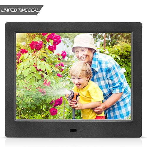MRQ 8 Inch Digital Photo Frame, ...