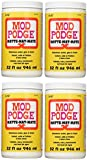 Mod Podge Waterbase Sealer, Glue and Finish, 4 Pack (32-Ounce), CS11303 Matte Finish