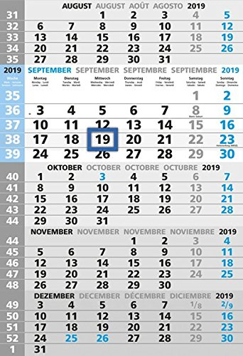 5-Monatskalender 2019