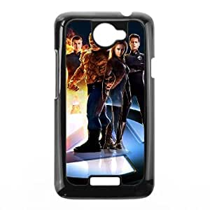 Fantastic Four HTC One X Cell Phone Case Black QD9331484