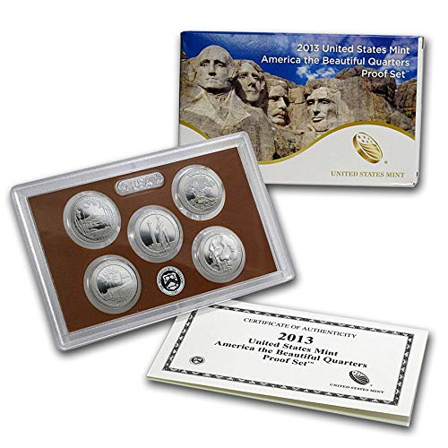2013 S UNITED STATES MINT 50 STATE QUARTERS PROOF SET Uncirculated ()