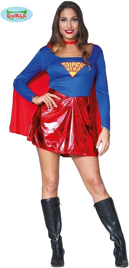 Guirca 84845 - Superheroina Adulta Talla M 38-40: Guirca: Amazon ...
