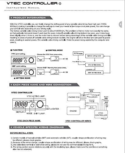 Wiring Diagram For Vtec