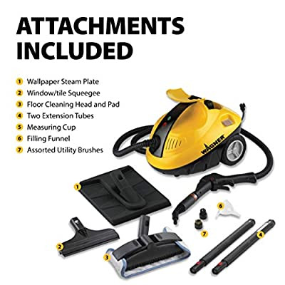 Wagner Spraytech C900053.M SteamMachine Multi-Purpose Home Steamer Steam Cleaner for Cleaning Counters, Floors, Windows, Appliances and Bathrooms