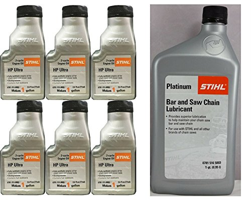 STIHL Chainsaw Oil Mix and Chain Lubricant Bundle (Engine Stihl)