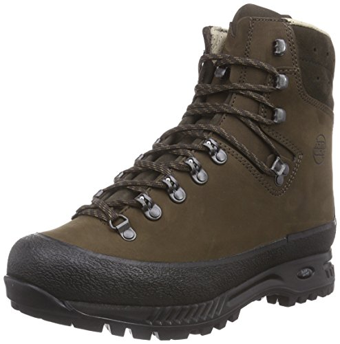 Hanwag Yukon, Zapatos de High Rise Senderismo para Hombre Marrón (Erde Brown)