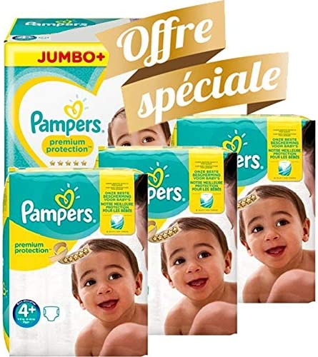 Taille 4 Couches Pampers 250 couches b/éb/é new baby premium protection