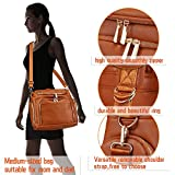 Diaper Bag Backpack, 7-in-1 Beaulyn Leather Travel