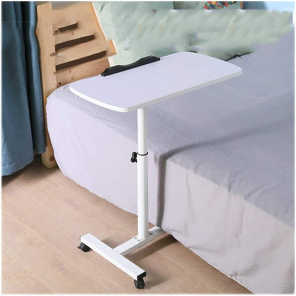 Adjustable Standing Laptop Desk,Folding Breakfast Serving Coffee Tray Notebook Stand Reading Holder,Portable Laptop Desk Color : Q3 White