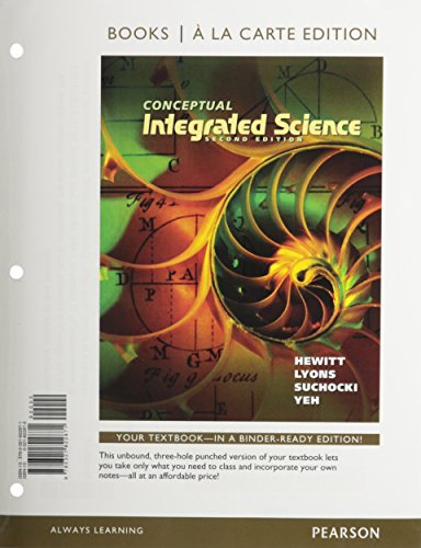 Conceptual Integrated Science, Books a la Carte Plus Mastering Physics with eText -- Access Card Package (2nd Edition)