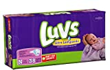 Health & Personal Care : Luvs Ultra Leakguards Jumbo Pack Newborn Diapers 38ct.