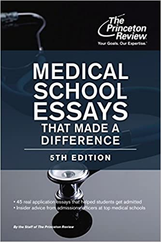 Amazon com: Medical School Essays That Made a Difference