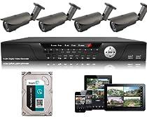 USG Business Grade CCTV Kit: 1x 16 Channel 960H DVR + 4x 2.8-12mm Bullet Cameras + 1x 2TB HDD *** Complete CCTV Video Surveillance