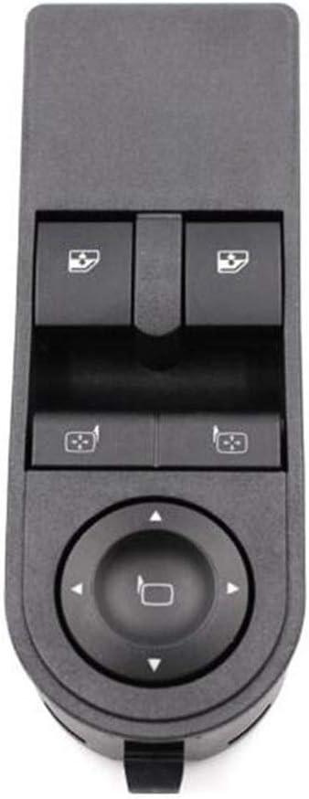 Globalflashdeal Bouton De Fenetre Leve-Vitre Electrique Cote Conducteur Avant Cote Conducteur 13228879 pour Vauxhall Astra H /& Zafira-B