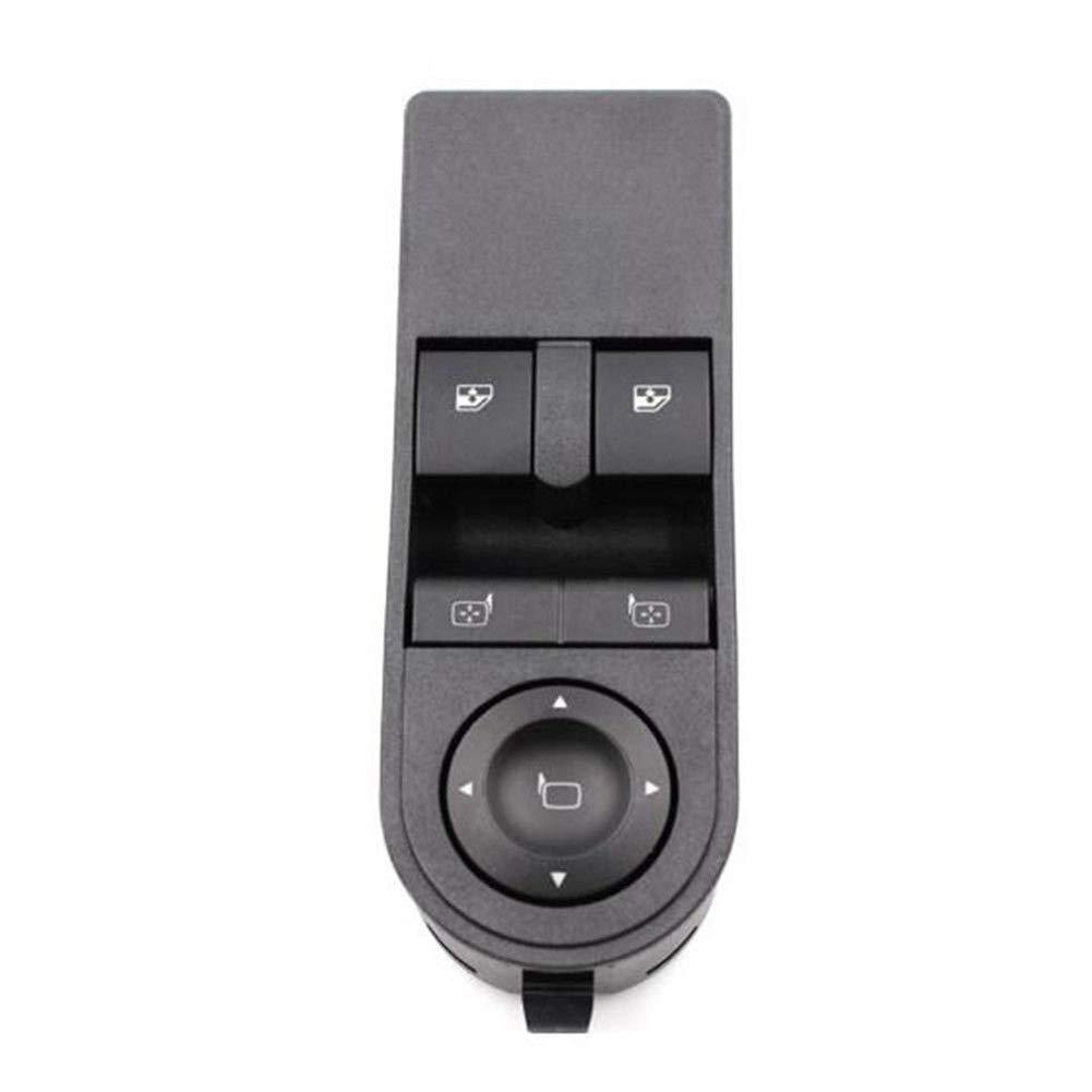 Nrpfell Bot/ón de La Ventanilla del Coche del Interruptor El/éctrico Delantero del Lado Izquierdo del Conductor 13228879 para Vauxhall Astra H /& Zafira-B