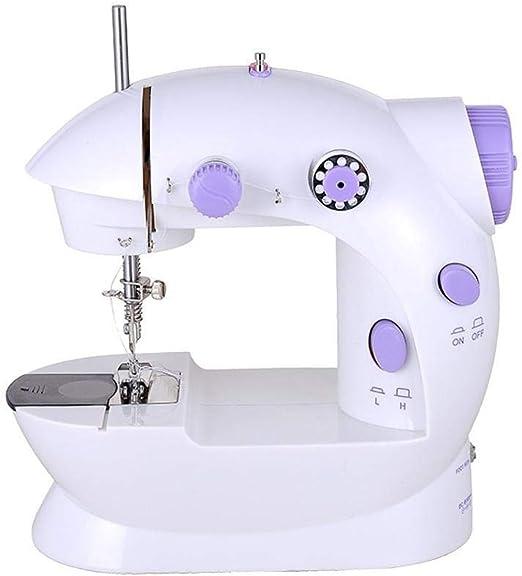 GSKTY Máquina de coser Pequeña máquina de coser del hogar ...