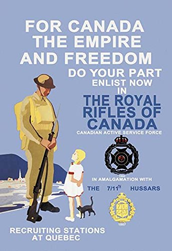 For Canada, the Empire, and Freedom 20x30 poster by Buyenlarge