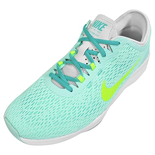 Nike Frauen Zoom Fit Cross Trainer Artisan Teal / Volt-reines Platin-Licht Retro