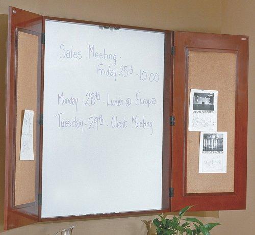 Office Star Sonoma Presentation Board, 48X48 (Dark Cherry) by Office Star