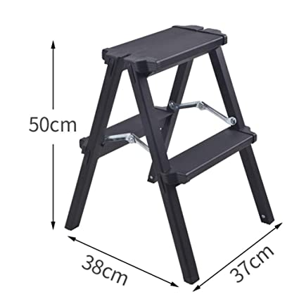 Stupendous 2 Steps Ladder Thick Aluminum Alloy Multifunctional Folding Inzonedesignstudio Interior Chair Design Inzonedesignstudiocom