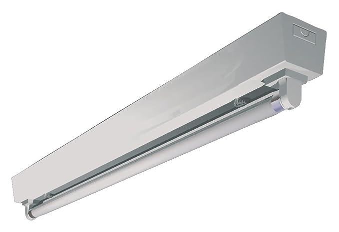 Airfal Led con 1 Tubo, Blanco, 123.3 x 6 cm