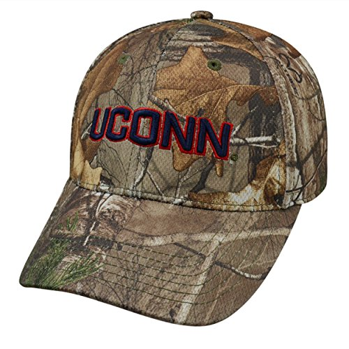 Top of the World Connecticut Huskies Official NCAA One Fit Xtra Hat Classic Cap by (Huskies One Fit Cap)