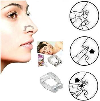 2pc antironquidos dilatador nasal sleep Nariz Clip para Dormir ...