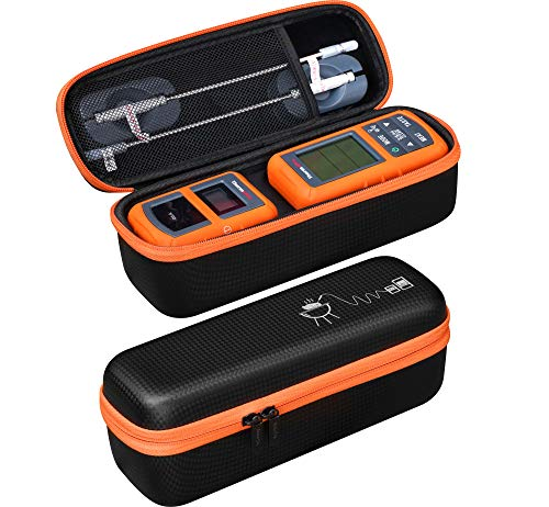 - Hard Case For ThermoPro TP-20 / TP-08S / TP-07 Wireless Remote Digital Cooking Meat Thermometer - Black/Orange