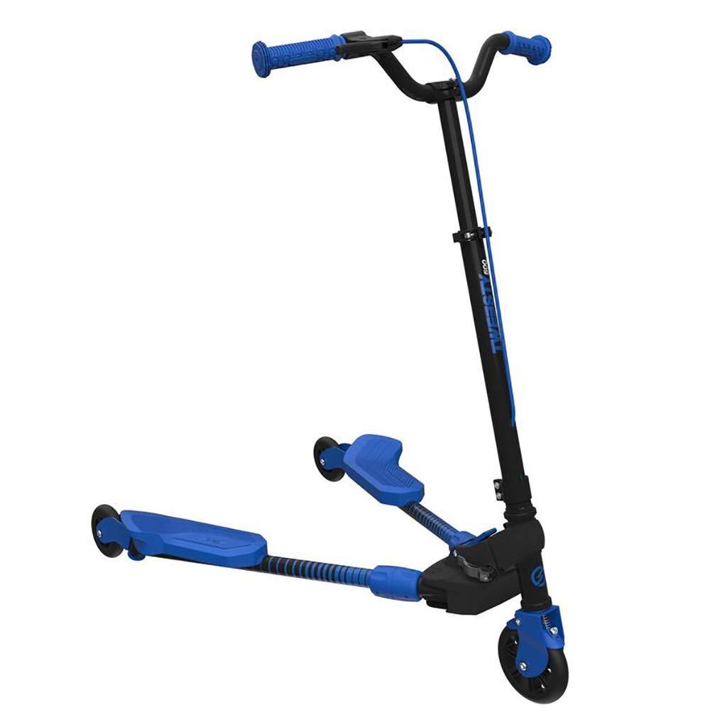 春夏新作モデル 3ホイールスクーターキックスクーターセルフプッシュモーションスピーダーアウトドアスポーツで高さ調節可能なハンドルバー 青 B07MY4FLJY、子供スクーター三輪車の赤ちゃん3に付き1バランスバイクに乗るおもちゃ (色 : 青 Red) B07MY4FLJY 青 青, アショロチョウ:81786b65 --- a0267596.xsph.ru