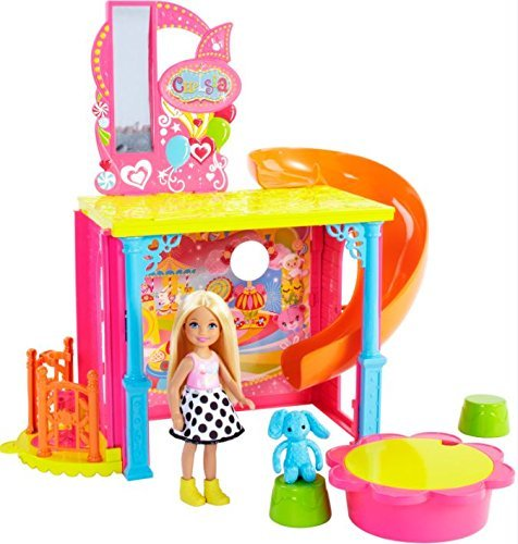 Barbie Chelsea Fun House (Barbie Doll House With Elevator)