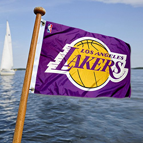 Los Angeles Lakers Golf (Los Angeles Lakers Boat and Golf Cart Flag)