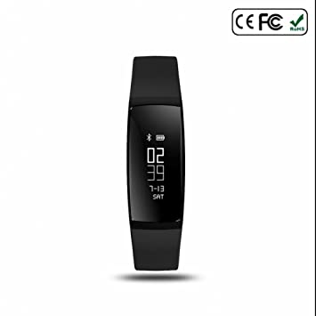 Smart banda Tensiómetro de pulsera Smart Reloj de pulsera Pulso Reloj Smart banda inalámbrica podómetro fitness