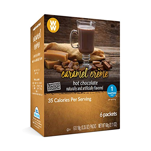 Weight Watchers Hot Chocolate (Caramel Creme) Creme Cocoa Drinks
