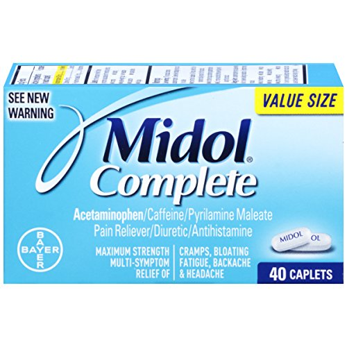 Midol Complete Caplets 40 Count Box product image