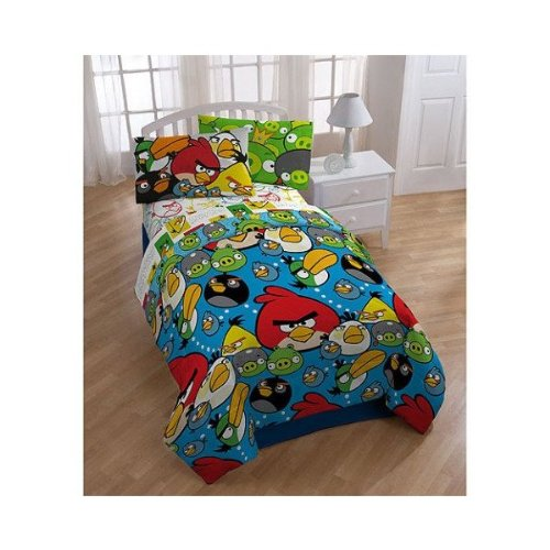 Angry Birds Full Comforter Sheet