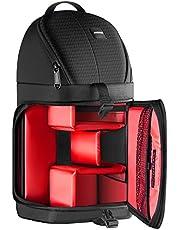 Neewer Professionelle Kamera Tasche Wasserdicht stoßfest reißfest für Canon Nikon Sony Pentax Olympus Fujifilm Panasonic DSLRs und Spiegelose Kameras (Rote Innenraum)