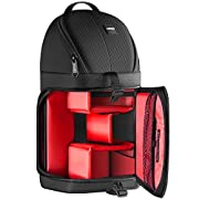 Neewer Professional Camera Storage Sling Bag Waterproof Shockproof Tearproof Partition Protection Case for Canon Nikon…