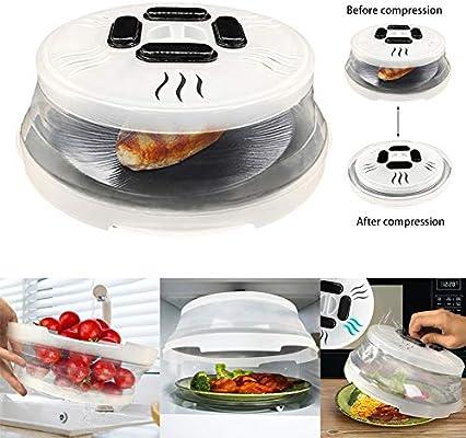 xnbnsj - Tapa protectora para plato de microondas con tapa As Show ...