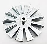 3-20-502221 - HARMAN Fireplace Fan Blade, 5'' Double Paddle, Fits The Following Stoves P38, P61,P68, P43, XXV and More.