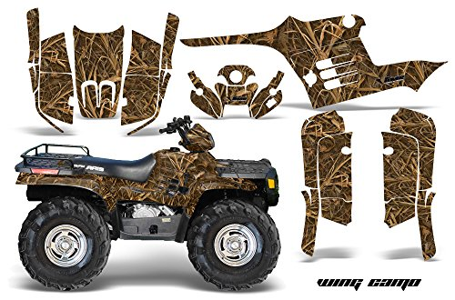 AMR Racing Graphics Kit for ATV Polaris Sportsman 400/500/600/700 1995-2004 WING CAMO
