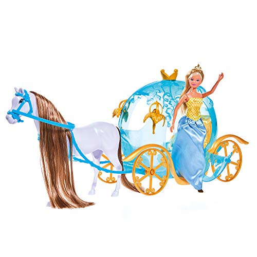 Simba Toys - Steffi Love Fairytale Pumpkin Carriage Playset