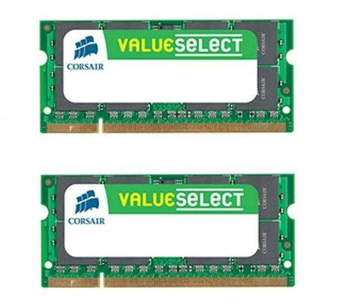 - Corsair Value Select VS4GSDSKIT800D2 G 4GB DDR2 SDRAM Memory Module