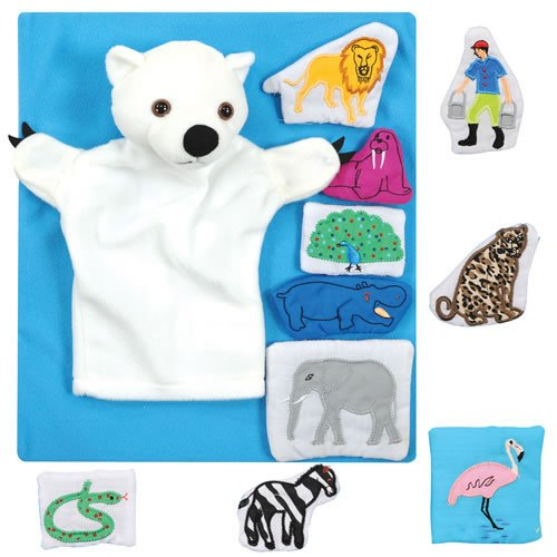 Polar Bear, Polar Bear, What Do You Hear? Puppet & - Bear Polar Puppet Hand