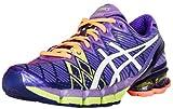 ASICS Women's Gel-Kinsei 5 Running Shoe,Ultra Marine/White/Purple,8 M US