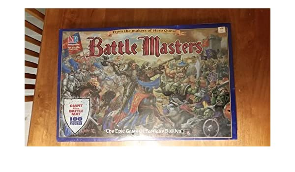Battle Masters by Board Games - Fantasy Milton Bradley: Amazon.es ...