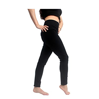 YL trd V Women's High Waist Yoga Pants/Yoga Legging Capris with Hidden Pockets