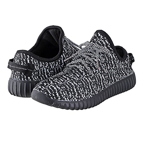 for Mens Lightweight Shoes Foam Fortis White Black Sneakers Shoes Knit Knitted Men Shoes Memory Casual zfwxqHd