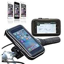 Navitech Cycle / Bike / Bicycle & Motorbike Waterproof holder Mount & Case For The Apple iPhone 6S Plus